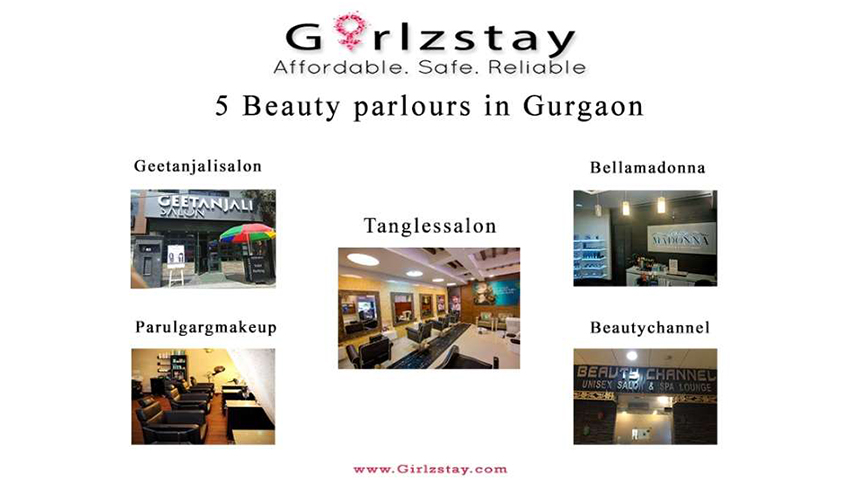5 Beauty parlours in Gurgaon